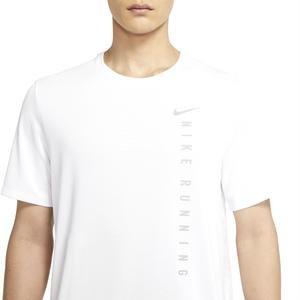 M Nk Rn Dvn Miler Ss Hybrid Erkek Beyaz Koşu Tişört DA1315-100