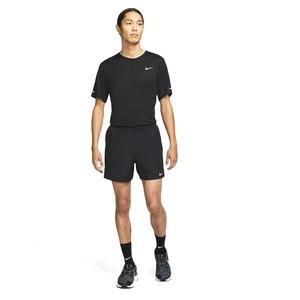 M Nk Df Challenger Short 5Bf Erkek Siyah Koşu Şortu CZ9062-010