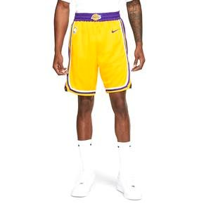 NBA Los Angeles Lakers Lebron Erkek Sarı Basketbol Şortu AJ5617-728