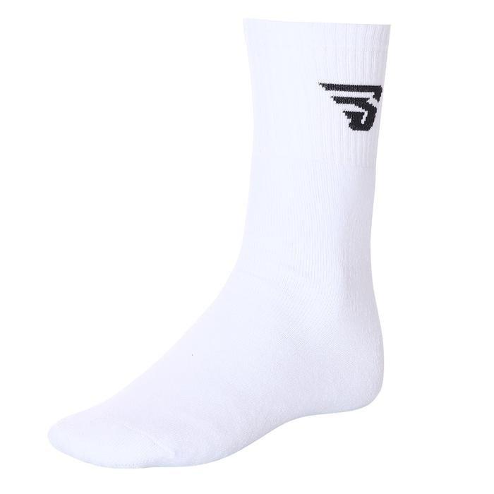 Topuksuz Kisa Unisex Beyaz Tenis Çorabı 17007-BY 460835