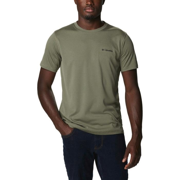 Zero Rules Erkek Yeşil Outdoor Tişört AM6084-397 1283008