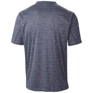 Zero Rules Erkek Mavi Outdoor Tişört AM6084-469