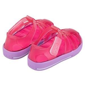 Star Bicolor Çocuk Pembe Günlük Stil Sandalet S10270-018