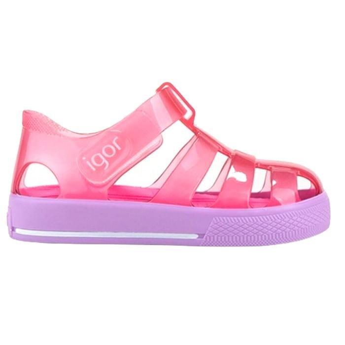 Star Bicolor Çocuk Pembe Günlük Stil Sandalet S10270-018 1282185