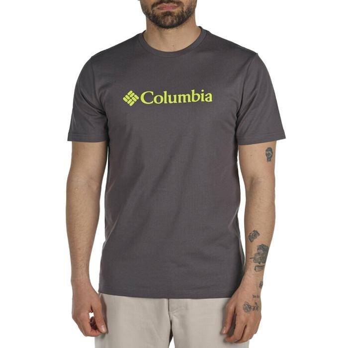 Csc Basic Logo Erkek Gri Outdoor Tişört CS0001-011 1225232