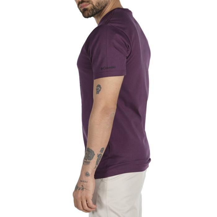 Range Roam Pattern Erkek Bordo Outdoor Tişört CS0124-522 1288182