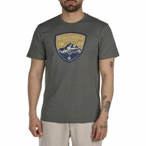 Intl Mountain Shield Csc Ss Erkek Yeşil Outdoor Tişört CS0127-339