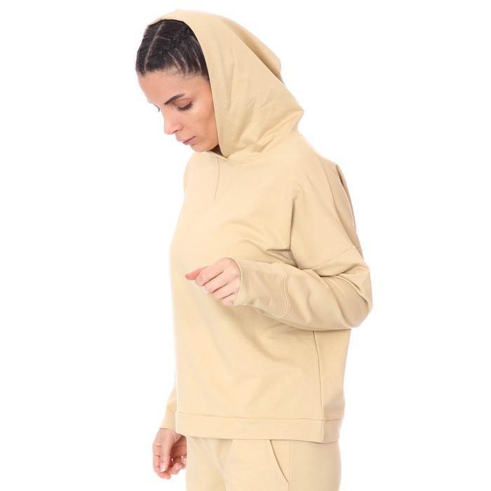 Spo-Firbolcropnewtop Kadın Bej Günlük Stil Sweatshirt 712106-BEJ 1280761