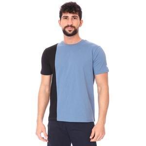 2 Colored Tee Erkek Lacivert Günlük Stil Tişört 712201-Lcv