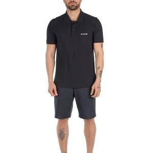 M Cascade Range II Solid Polo Erkek Siyah Outdoor Polo Tişört CS0214-010