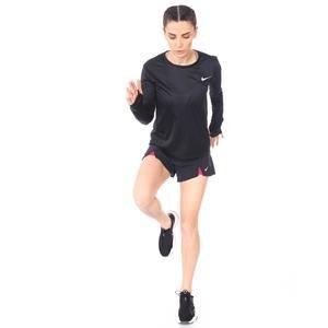 Miler Top Ls Kadın Siyah Koşu Uzun Kollu Tişört AJ8128-010