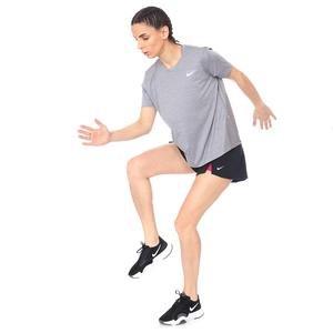 Miler Top Kadın Gri Koşu Tişört AJ8121-056
