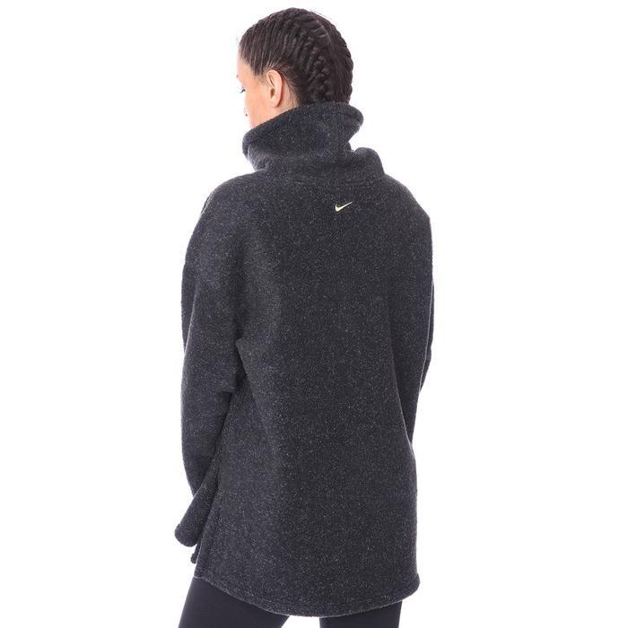 W Nk Thrma Cozy Cowl Kadın Siyah Antrenman Uzun Kollu Tişört CU6778-010 1233806