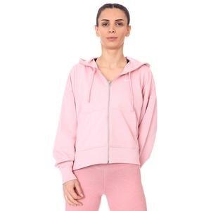 W Nk Dry Get Fit Flc Grx Fz Kadın Pembe Antrenman Sweatshirt DA0378-630
