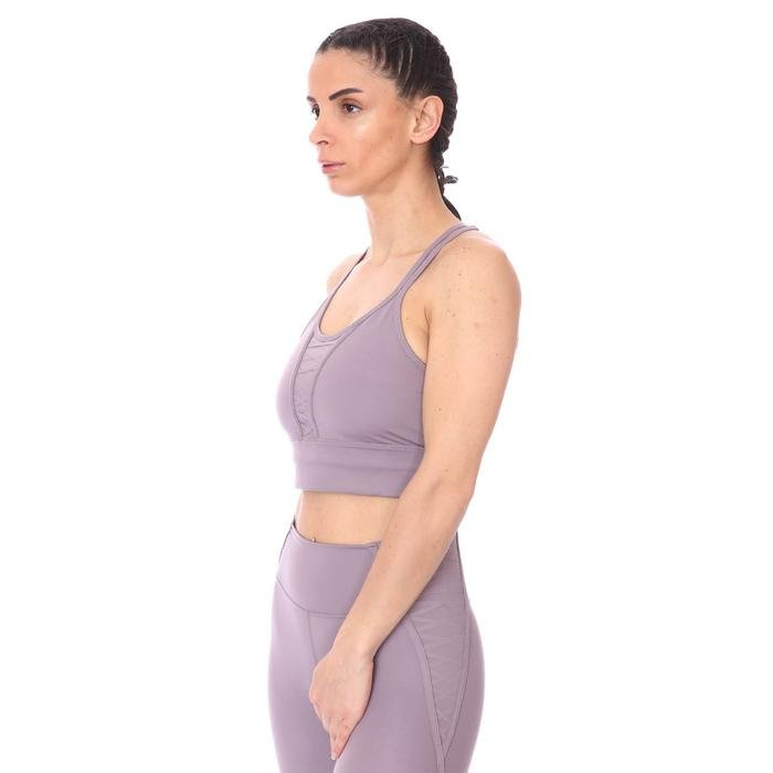 W Nk Dry Crp Lacing Top Lux Kadın Mor Antrenman Atlet DA0362-531 1274694