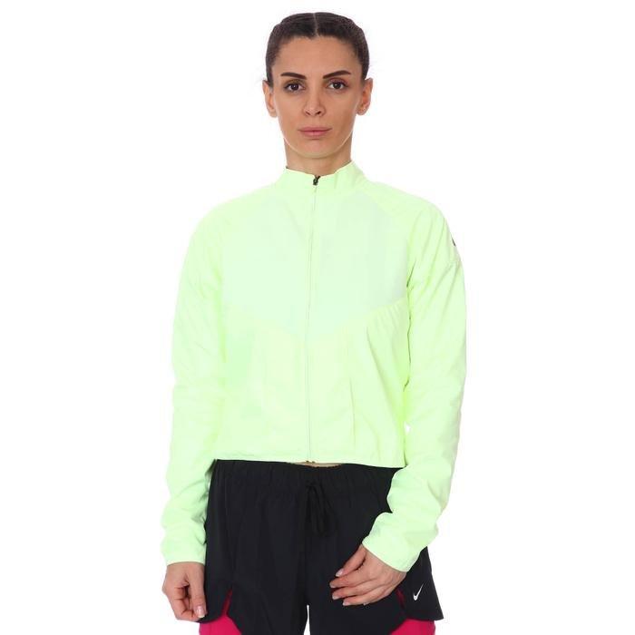 W Nk Run Dvn Top Mid Kadın Sarı Koşu Uzun Kollu Tişört DC8033-701 1274589