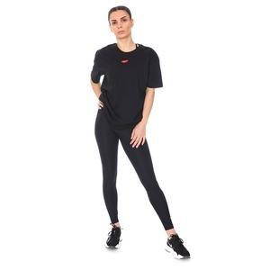 W Nsw Tee Boy Love Kadın Siyah Günlük Stil Tişört DB9817-010