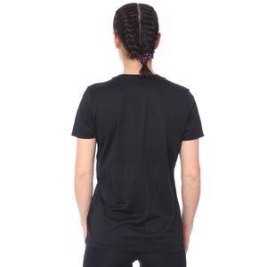 W Nk Dry Leg Tee Crew Kadın Siyah Antrenman Tişört AQ3210-010