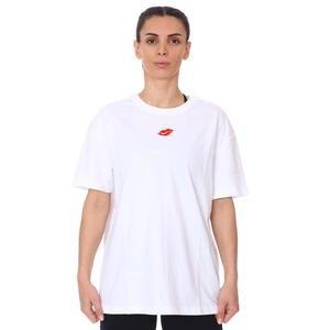 W Nsw Tee Boy Love Kadın Beyaz Günlük Stil Tişört DB9817-100