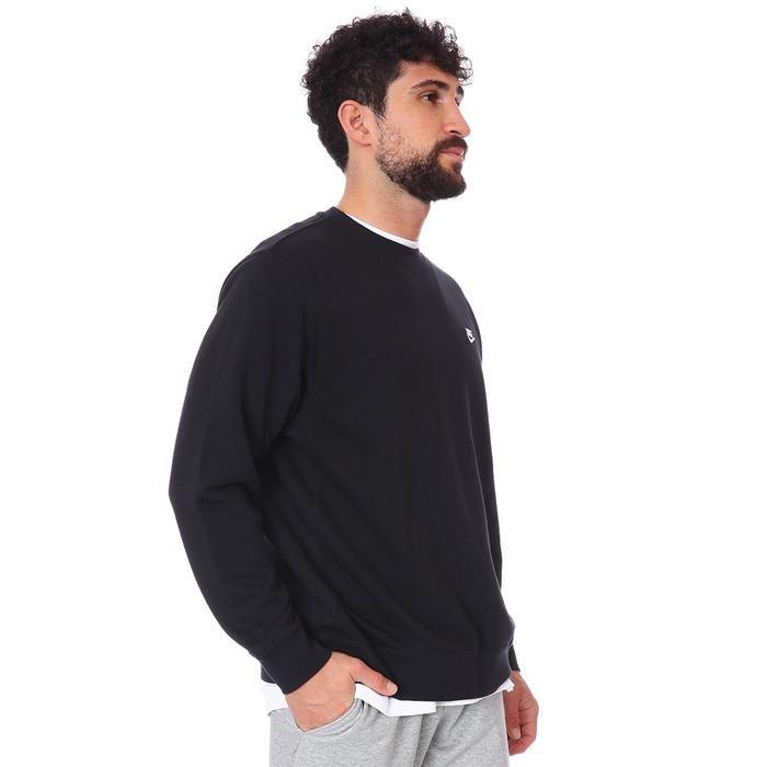 M Nsw Club Crw Ft Erkek Siyah Günlük Stil Sweatshirt BV2666-010 1109233