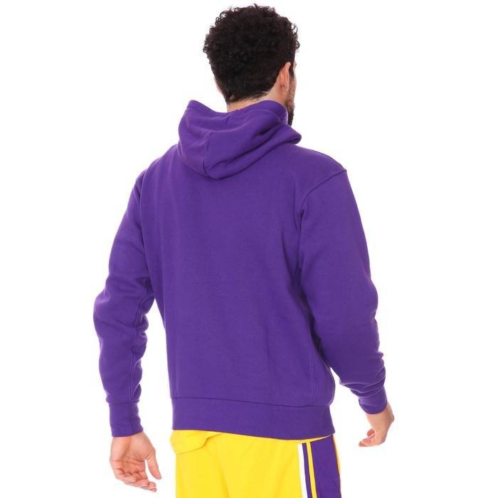 NBA Los Angeles Lakers Erkek Mor Basketbol Sweatshirt CN1197-504 1233059