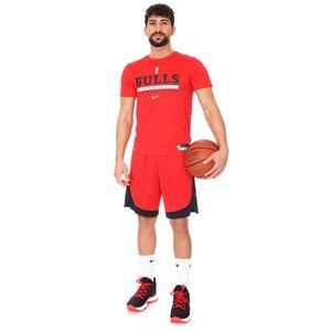 Chicago Bulls NBA Tee Es Prtc Gpx Ss Erkek Kırmızı Basketbol Tişört CK8189-657