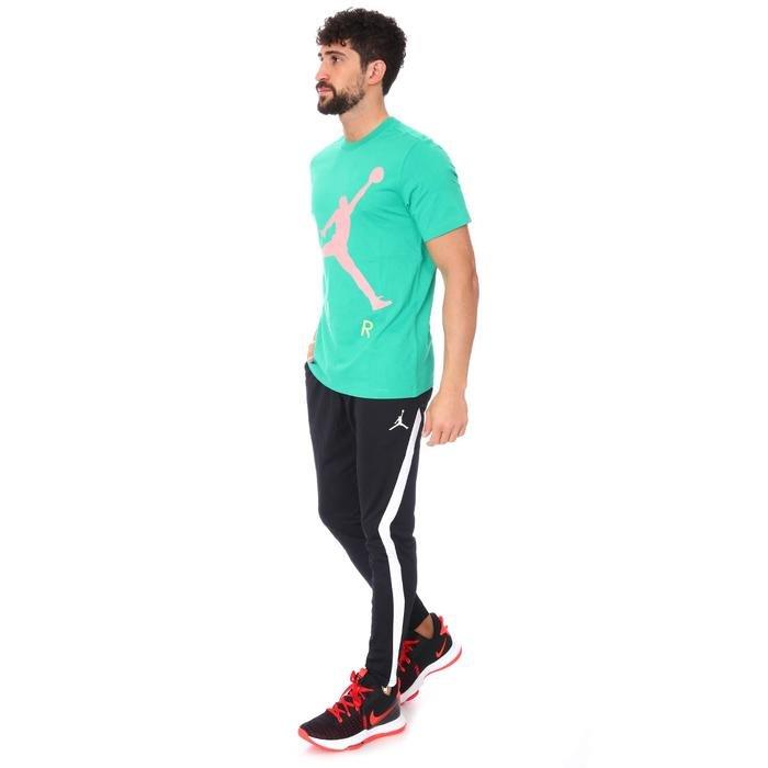 Air Jordan NBA Jumpman Air Hbr Ss Crew Erkek Yeşil Basketbol Tişört CV3425-372 1286008