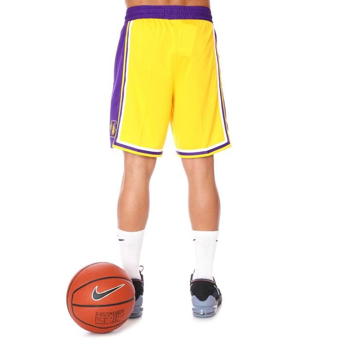 NBA Los Angeles Lakers Lebron Erkek Sarı Basketbol Şortu AJ5617-728 1274913