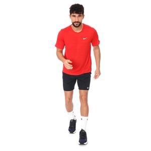 M Nk Df Miler Top Ss Erkek Kırmızı Koşu Tişört CU5992-657