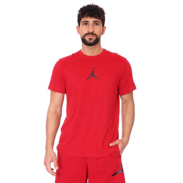 Air Jordan NBA Jumpman Erkek Kırmızı Basketbol Tişört CW5190-687 1273144