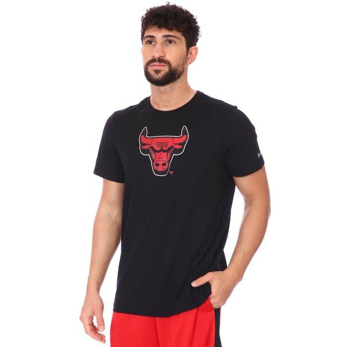 Chicago Bulls NBA Dry Tee Es Chrm Lgo Erkek Siyah Basketbol Tişört CZ7245-010 1274954