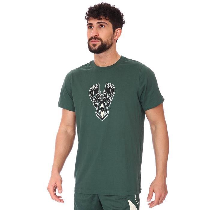 Milwaukee Bucks Earned Edition NBA Dry Tee Es Chrm Lgo Erkek Yeşil Basketbol Tişört CZ7283-323 1274958