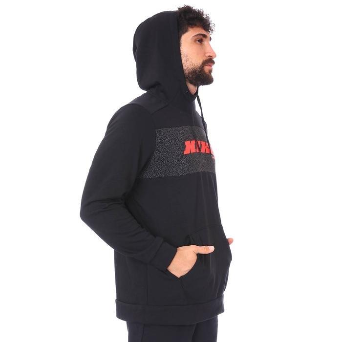 M Nk Dry Hd Po Flc Sc Energy Erkek Siyah Antrenman Sweatshirt CZ1484-010 1273454