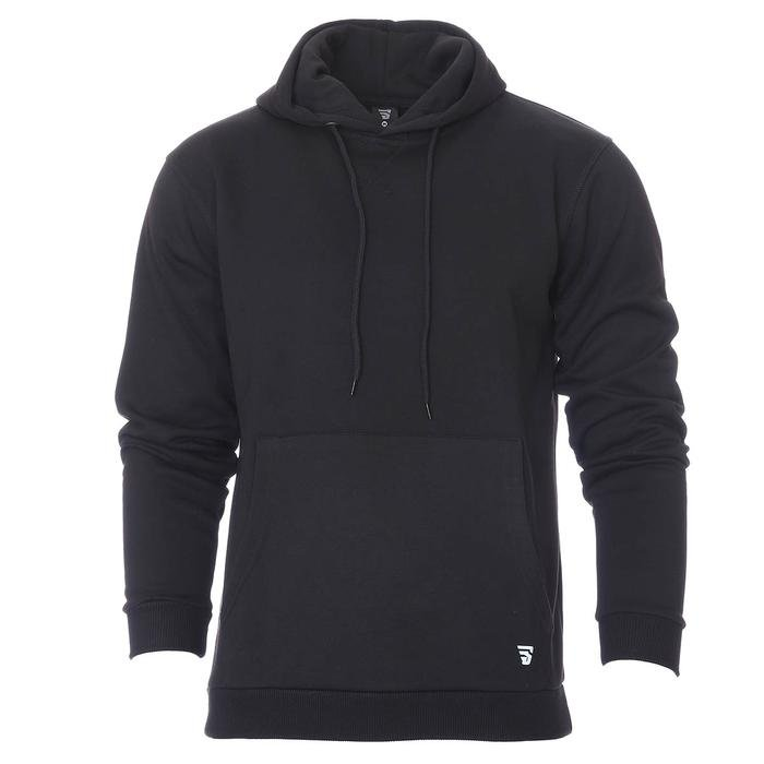 Spo-Shoodie Erkek Siyah Günlük Stil Sweatshirt 712203-SYH 1280596