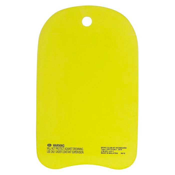 Club Kit Kickboard Unisex Sarı Yüzme Tahtası 002441600 1157056