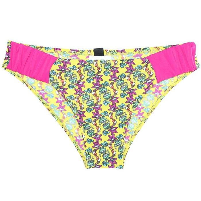 Water Tribe Kids Girl Brief Çocuk Çok Renkli Yüzücü Slip Mayo 1B09739 635000