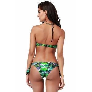 Toucan Bandeau Kadın Yeşil Yüzücü Bikini 1B25855