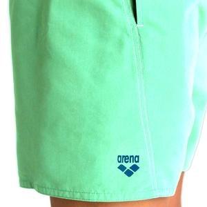Fundamentals Logo Boxer Erkek Yeşil Yüzücü Mayosu 1B344670