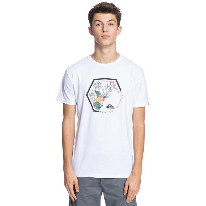 Fading Out Ss Erkek Beyaz Günlük Stil Tişört EQYZT06320-WBB0 1287219