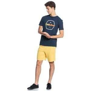 Hard Wired Ss Erkek Lacivert Günlük Stil Tişört EQYZT06327-BYJ0