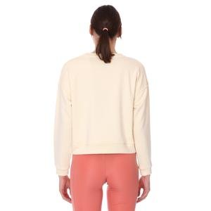 Spo-Overwomsweat Kadın Bej Günlük Stil Sweatshirt 711239-ECR-R
