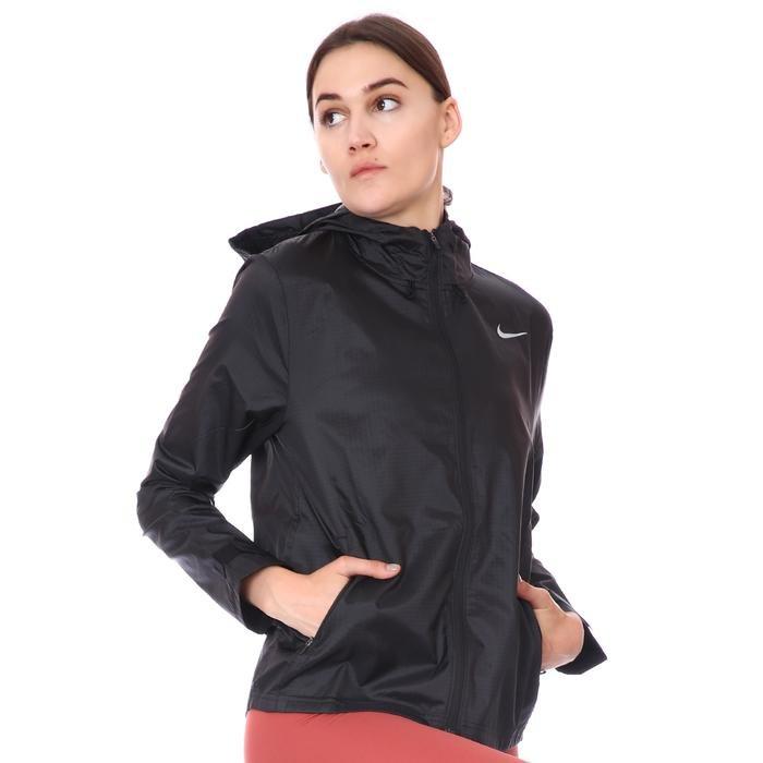 Essential Jacket Kadın Siyah Koşu Ceket CU3217-010 1212892