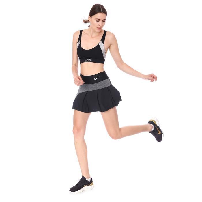 W Nkct Df Advtg Skirt Hybrid Kadın Siyah Tenis Etek CV4707-010 1283836