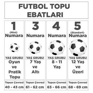 Pitch Training Unisex Mavi Futbol Topu CU8034-434