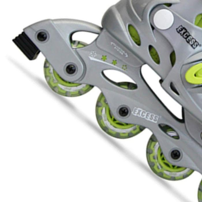 39-42 Inline Unisex Yeşil Outdoor Paten 1EXOYPW120/39.42-069 634425