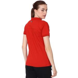 Karşıyaka Kadın Kırmızı Basketbol Polo Tişört TKY100137-KRM