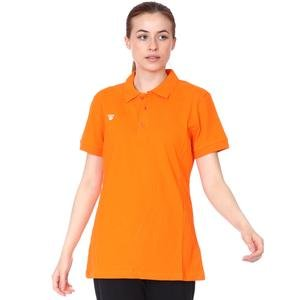 Spt Kadın Turuncu Voleybol Polo Tişört TKC100110-TRN