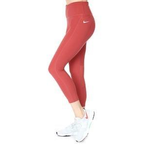 W Nk Df Fast Crop Kadın Kırmızı Koşu Tayt CZ9238-691