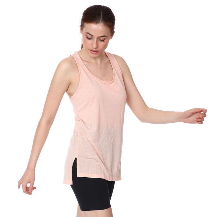 W Yoga Layer Tank Kadın Turuncu Antrenman Atlet CQ8826-800 1274027